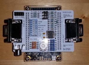 The RGB2VGA system
